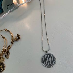 Urban Outfitters LOVE pendant necklace
